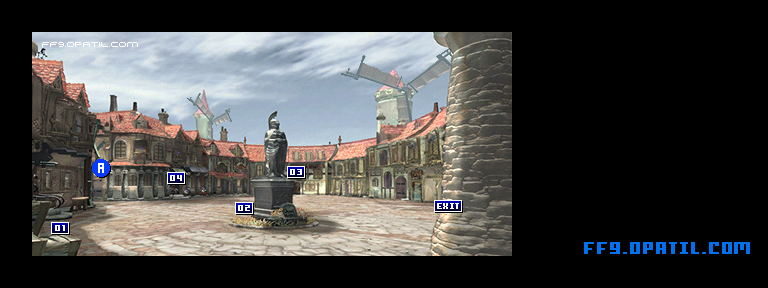 Alexandria Town Map : FF9 All Location Maps - FF9 Walkthrough and ...
