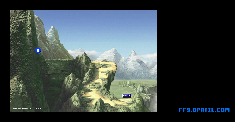 Ice Cavern Map : FF9 All Location Maps - FF9 Walkthrough and